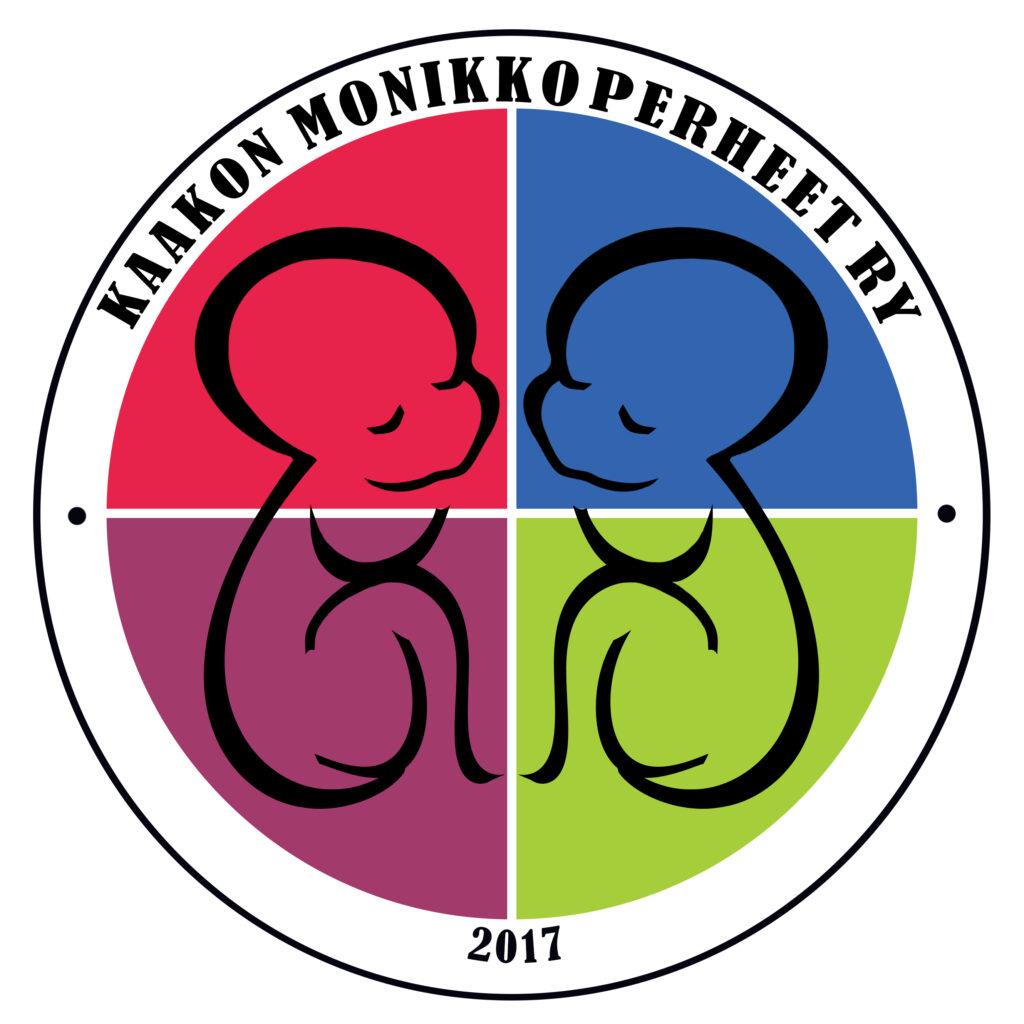 Kaakon Monikkoperheet ry logo